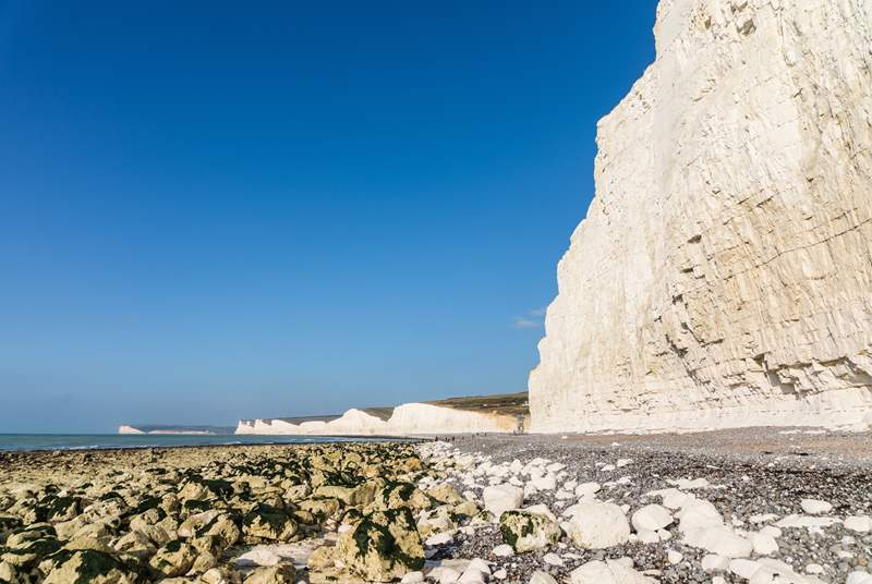 The Sussex coastline is a must see (this is Birling Gap).