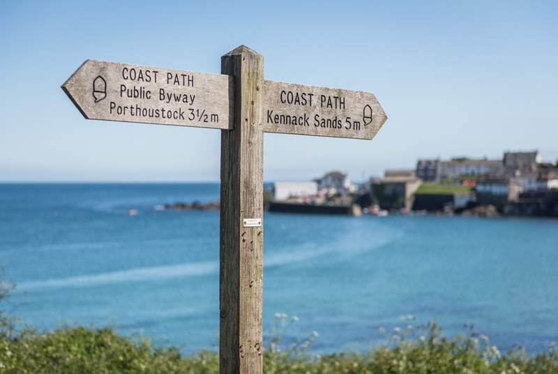Exploring the South West Coast Path and its stunning views is a must.