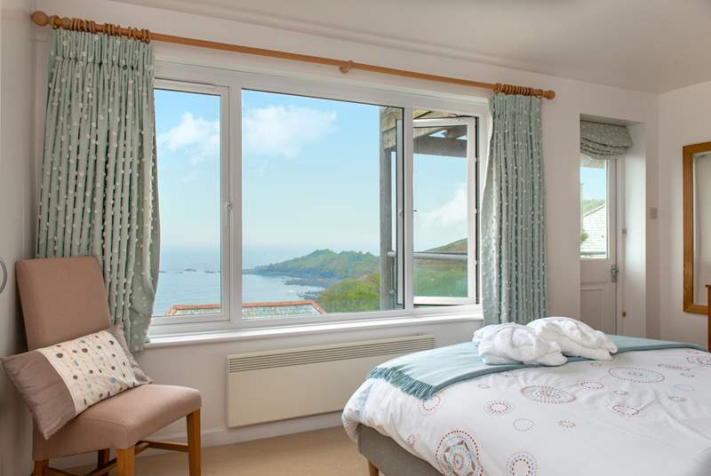 Lie and bed and take in the view, let's hope someone brings you a cup of coffee.