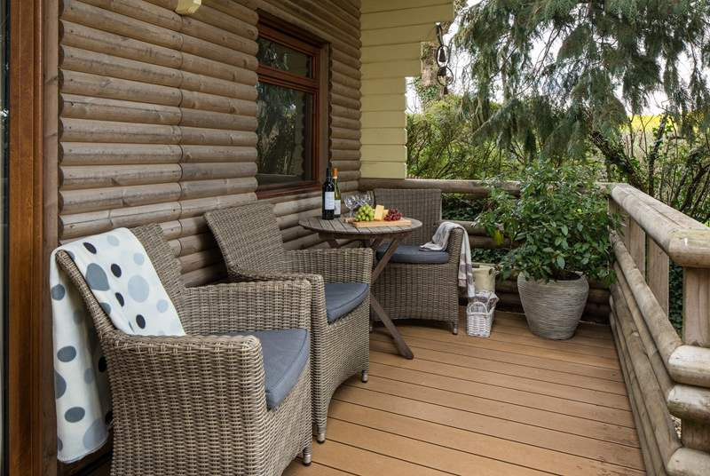Sit back and relax whilst taking in the beautiful scenery and birdsong.