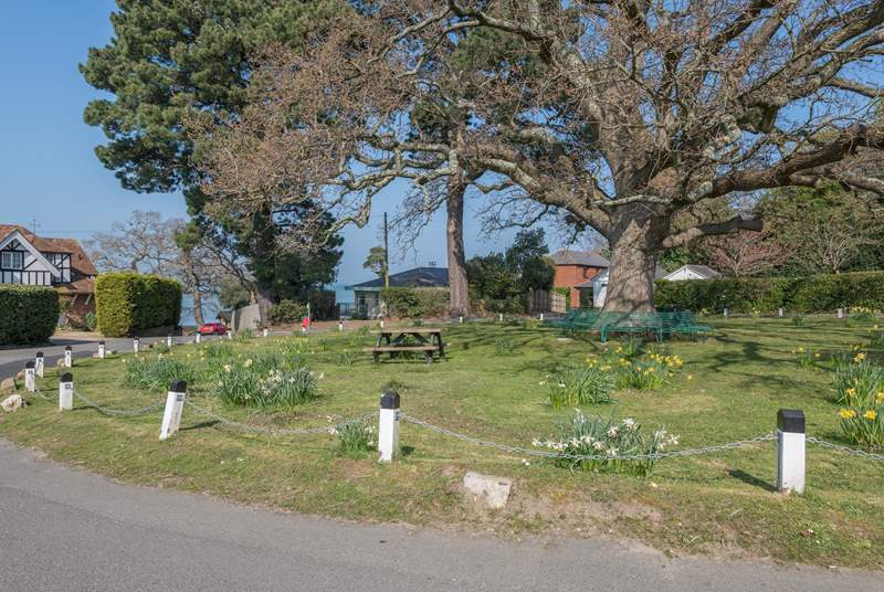 Fishbourne Green takes centre stage in this peaceful location