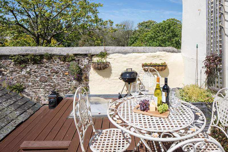 Beautiful uninterrupted views can be enjoyed from the roof patio.