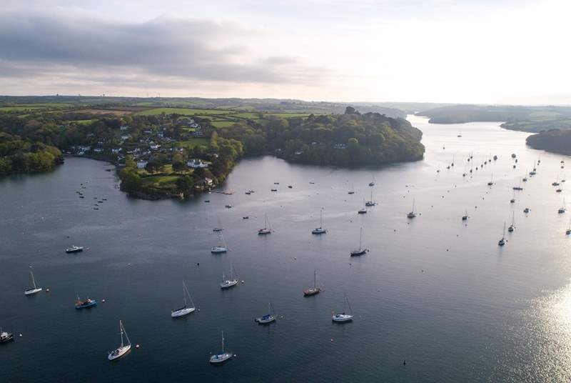 The banks of The Helford are just waiting to be explored.