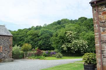 Leat Mill Cottage is in a lovely rural setting.