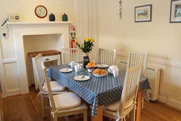 The kitchen/diner is a delightful room to enjoy breakfast, lunch or dinner.