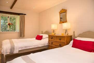 The second twin bedded room