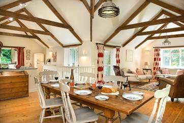 Trewane has a fabulous open plan living room