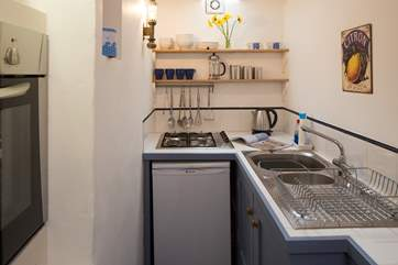Excelent use of space in the kitchen