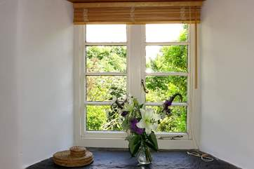 The stunning views can be enjoyed from inside too.