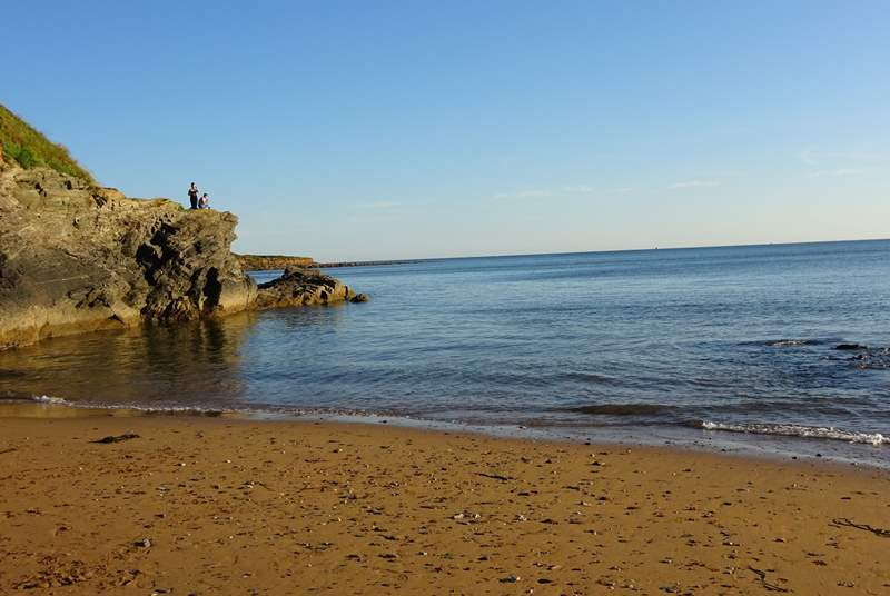 Bovisand beach is a great place for young and old and is only a short walk from your door-step.