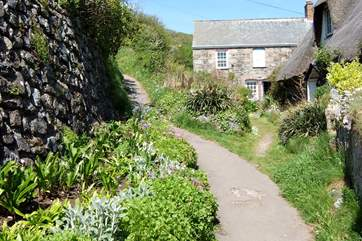 Just across the road from the Todden is the footpath leading to the village car park.