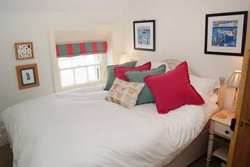 Bedroom 3 is another comfortable room furnished with a double bed.