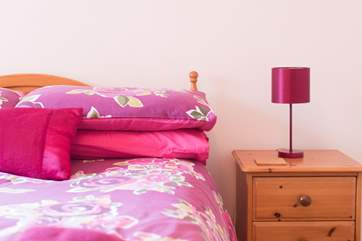Lovely bright colours in the bedrooms.