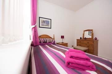 More vibrant colours in Bedroom 2.