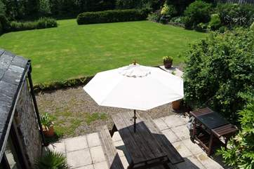 The grounds are stunning and provide plenty of room for games of football or cricket.