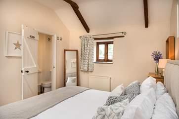 Bedroom Four has an en-suite shower room