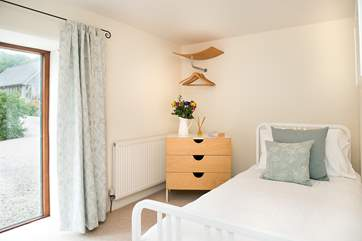 The second single bedded room