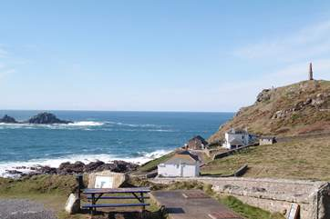 Cape Cornwall is nearby.