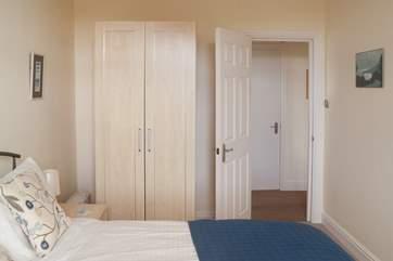 Both bedrooms have lots of storage.
