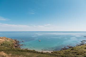 Mears Beach can be accessed by popping down the coast path.