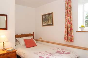 Bedroom 2 (ground floor) has a single bed.