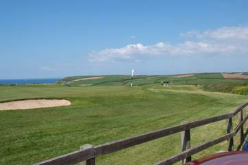 Mullion Golf Club is just up the road if you fancy a round of golf with rather specail views.