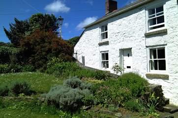 A picture-postcard cottage.