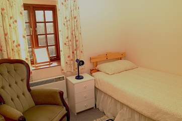 One of the single bedrooms (Bedroom 2).