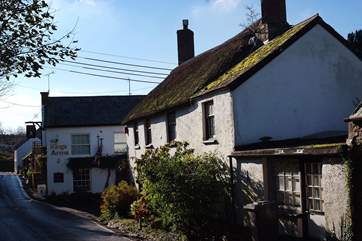 The King's Arms is just along the road and offers great food.