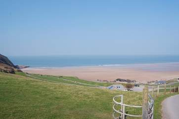 The Owners kindly provide you with a parking permit for the private car park at Putsborough beach, one and a half miles from the cottage.